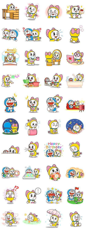 画像 - Doraemon & Dorami by Fujiko-Pro - Line.me