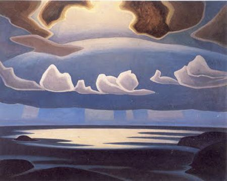Lawren Harris, From the North Shore, Lake Superior,1923 or 1927 Oil on Canvas