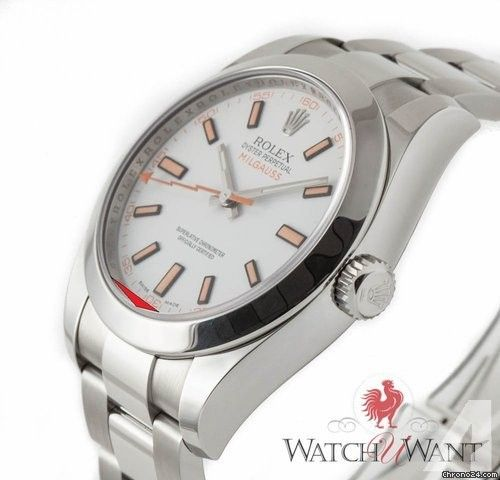 Rolex Oyster Perpetual Milgauss Ref. 116400 Price On Request