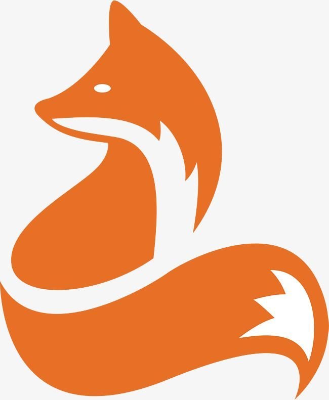 Fox Icon Design Fox Animal Icon Png And Vector With Transparent Background For Free Download Animal Icon Fox Silhouette Fox Drawing