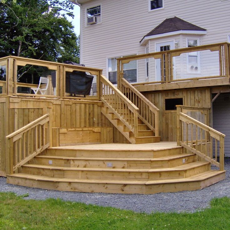 1000 Ideas About Backyard Overhaul On Pinterest Decks Two Story Deck And Composite Boards ~ loversiq