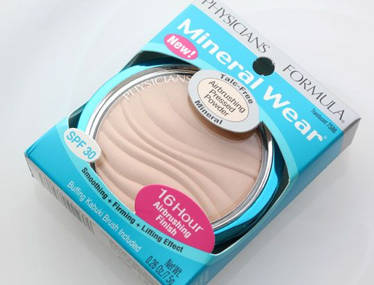 Mineral Wear Talc-Free Mineral Airbrushing Pressed Powder SPF 30 DUPE for MAC mineralized skin finish