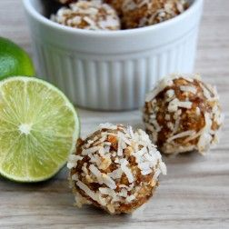 Bursting with flavor is what comes to mind to describe these energy bites. Small but mighty, they are packed with flavor in every bite. These healthy snacks are easy to make and great for grab-and-go situations. You get all the taste of key lime pie without all the work put into making a pie...