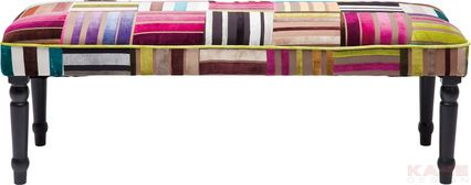 Bench Patchwork Stripes