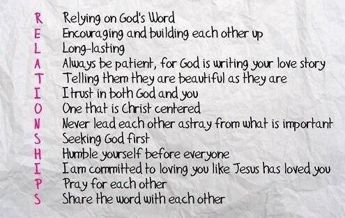 Putting god first in your dating relationship