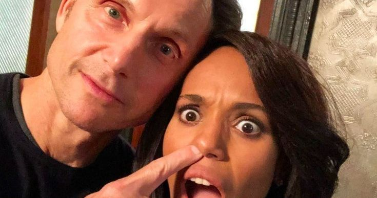 Scandal Wraps Final Episode with a Social Media Firestorm -- Scandal has officially wrapped filming on the last episode of the series and Shonda Rimes and Kerry Washington are paying tribute to the show. -- http://tvweb.com/scandal-tv-show-wraps-final-season-social-media-photos/