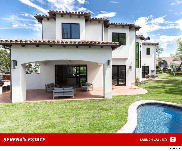 Now we know why Serena Williams is selling her $12 million Bel Air pad -- she's downsizing ... LIKE A BOSS!!!