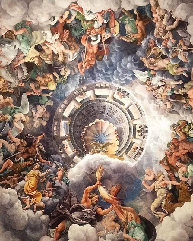 Sala dei Giganti, Giulio Romano, Palazzo Te #Mantova #Lombardia #Italy. See more at  www.in-lombardia.it/