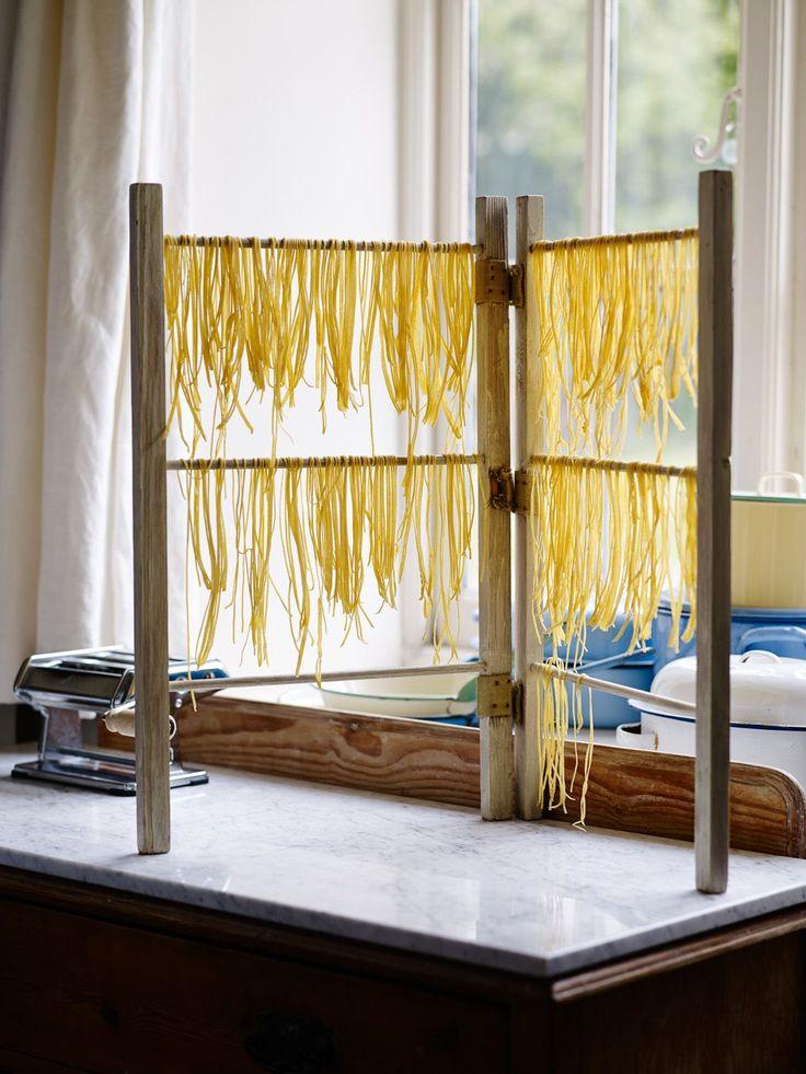 wishlist. pasta drying rack.
