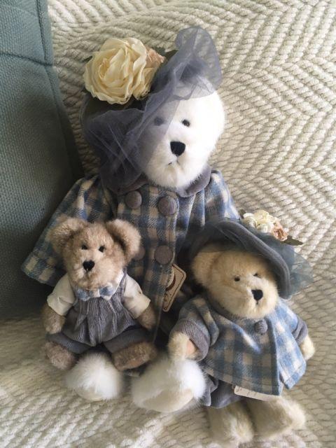 Boyds Bear Collection Momma Bearsworth style #99811V w/ Stuart & Mary Margaret | eBay