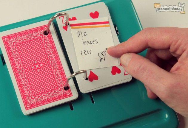 6 manualidades con naipes en las que nunca habías pensado