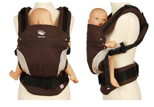 WORLDWIDE FREE SHIPPING  MANDUCA BABY CARRIER- BROWN  with box and manual  YOU CAN FIND THE MANDUCA NEW STYLE CARRIER IN 5 COLORS IN OUR SHOP.  Please leave us message after the order what colour need