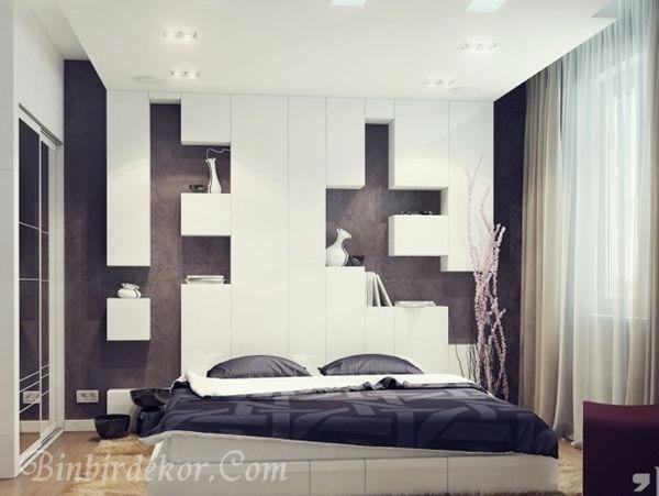 yatak dası duvar nişi modelleri
