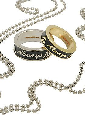 Love each other always // Harry Potter Always Ring Set