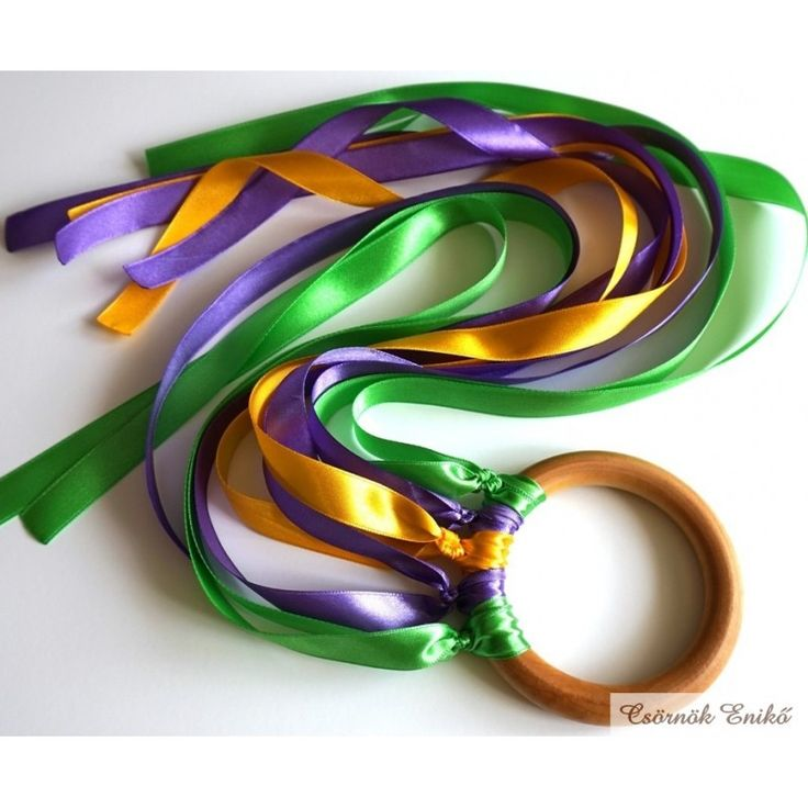 Encourage creative play and exercise at the same time! Your little one will love watching these ribbons spin and float around them as they run and dance.