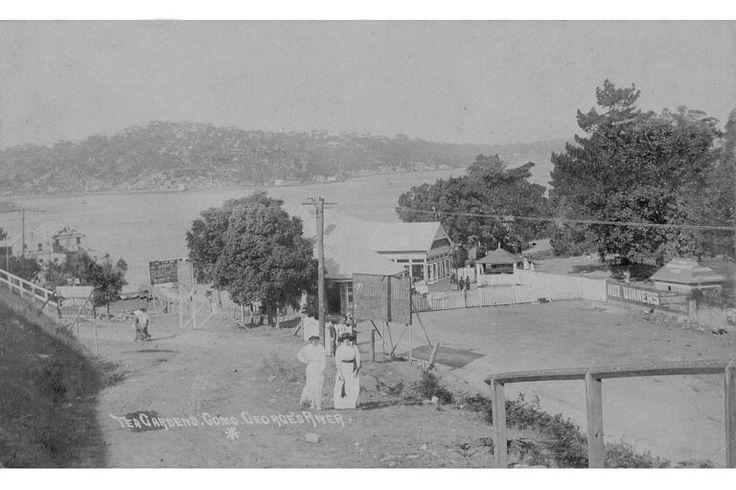 Tea gardens, Como, Georges River, ca. 1900s