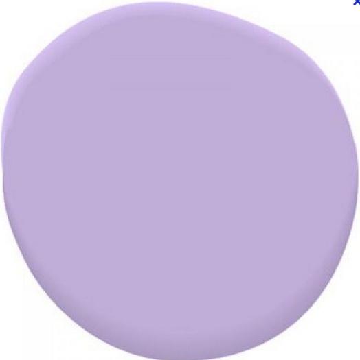 We luv lavender. Benjamin Moore Amethyst Cream 2071-50 is our lavender of choice. #BenjaminMoore