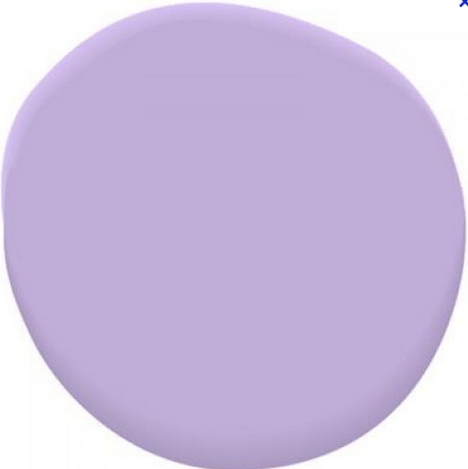 We luv lavender. Benjamin Moore Amethyst Cream 2071-50 is our lavender of choice. #BenjaminMoore
