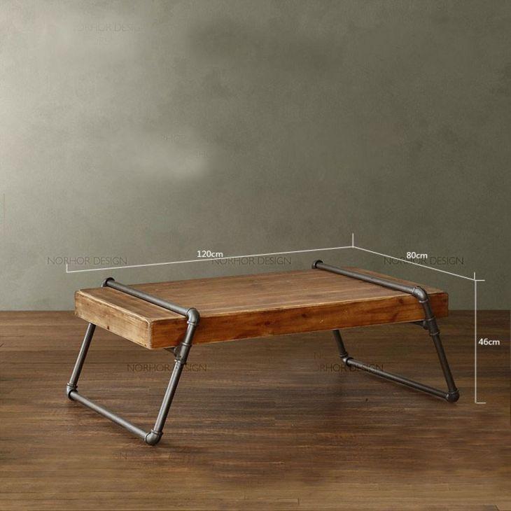 Industrial Style Tisch Varianten Auch Diy Genial Einfach Nachzubauen Industrieller Stil Couchtisch Industrial Couchtisch Holz
