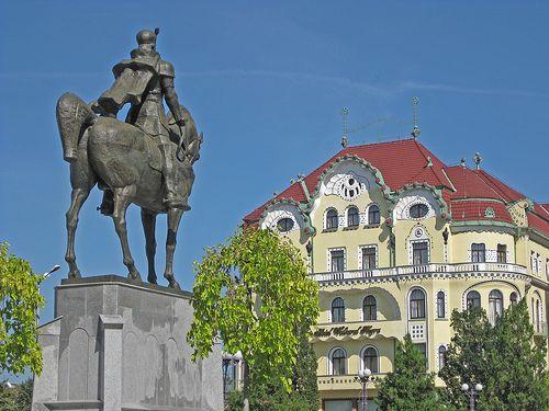 Mihai Viteazul şi Vulturul Negru in Oradea.