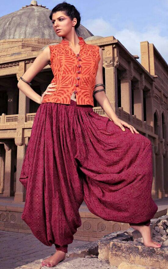Patiala - love the pants