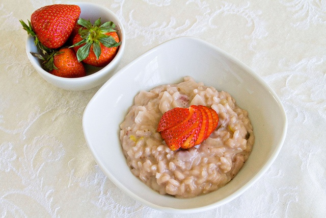 Strawberries and Cream Risotto | Food- Breakfast | Pinterest