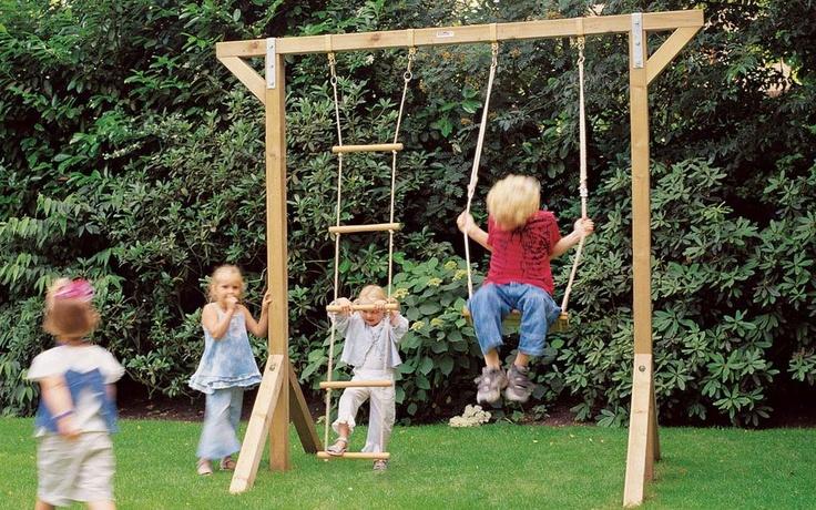Buiten spelen, Kinderschommel Enkel, vanaf EUR 229,- bij hillhout
