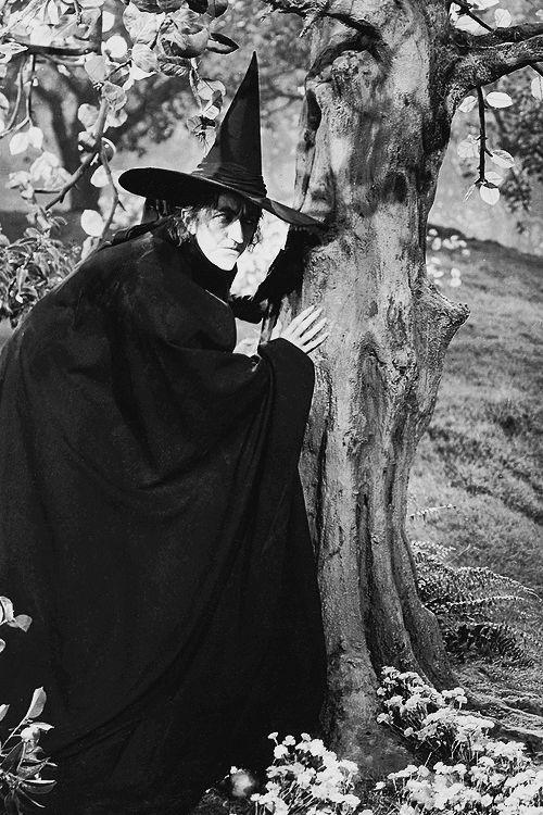 Margaret Hamilton in The Wizard of Oz (1939)