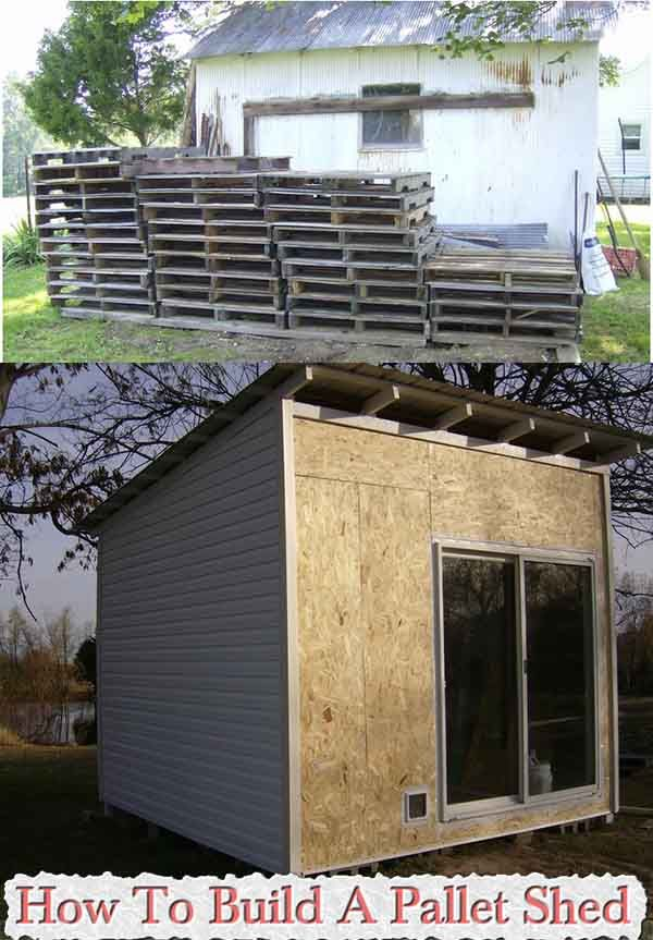 How To Build A Pallet Shed How To Build A Pallet Shed Who does not love building a shed out of pallets ? i know i love it, i have got to say mine did not look anything like this shed
