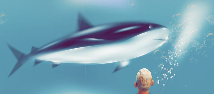 'Hey Dagz, here comes the SHARK!!!!! Not a whale !!! ' created by Tintin Wong in #neybers