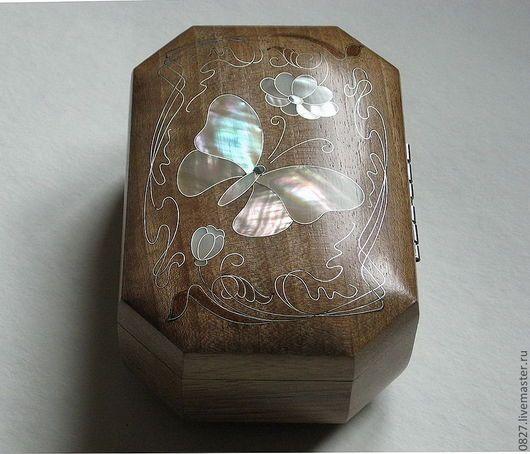 Шкатулки ручной работы. Шкатулка из дерева