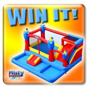 WIN a $700 Water Bounce House + 3 Get Deep Dicount Codes & Everyone Get $50 OFF! Ends 2/22