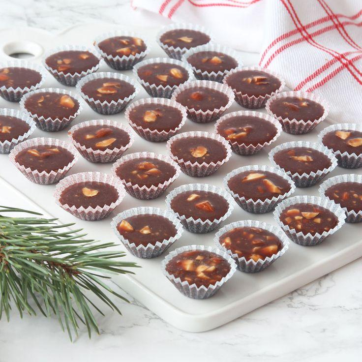 Seg knäcke med underbar chokladsmak!