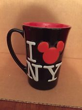 Disney Ratón Mickey oculto I (Corazón) Amor NY Nueva York Taza De Café Taza