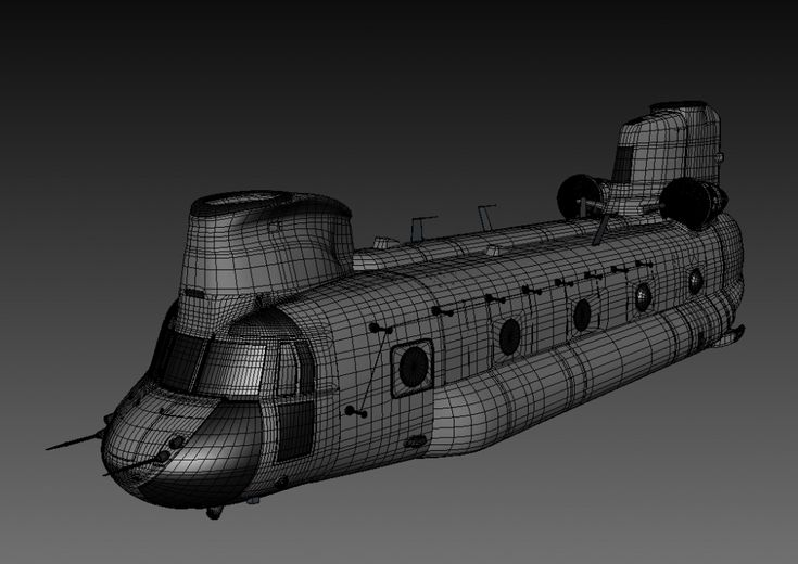"Chinook Fuselage ""The Making"""