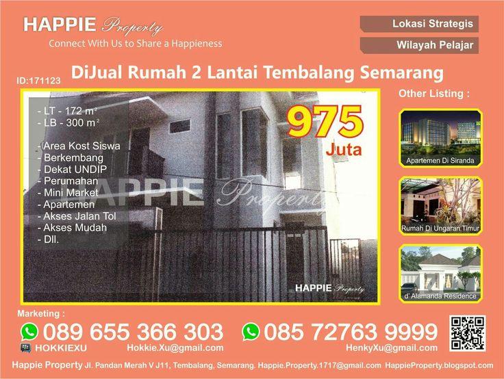 Rumah 2LT Dijual Di Ngesrep Tembalang Semarang  Minat Hub : Hokkie Xu - 089 655 366 303 Available on WhatsApp Pin BBM - HOKKIEXU David Henky - 085 72763 9999 Available on WhatsApp