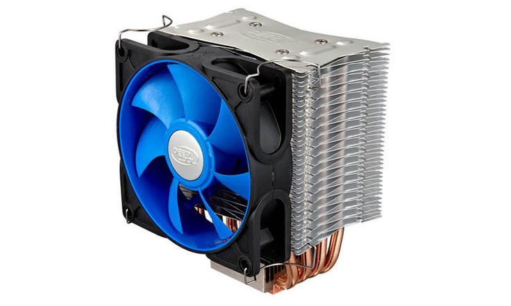 Deepcool ICE EDGE 400 FS Intel/AMD CPU Cooler Processor cooling 4 heatpipes #Deepcool (Dream PC's CPU Cooler)