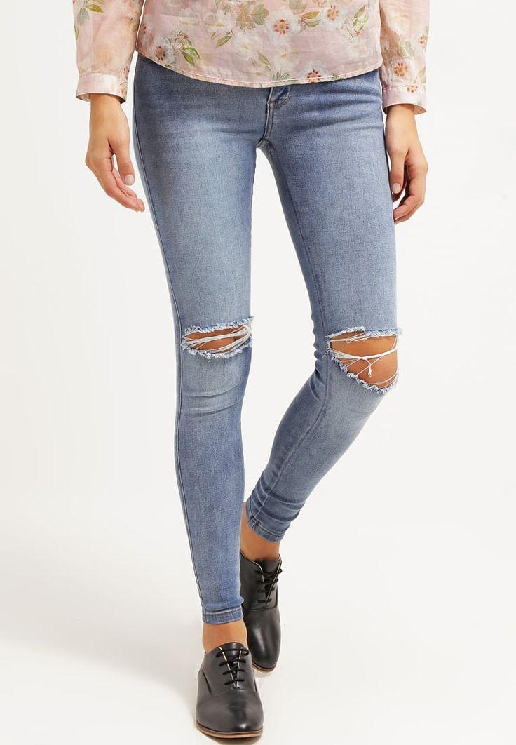 Dr.Denim DIXY - Jeans Skinny Fit - light stone - Zalando.dk