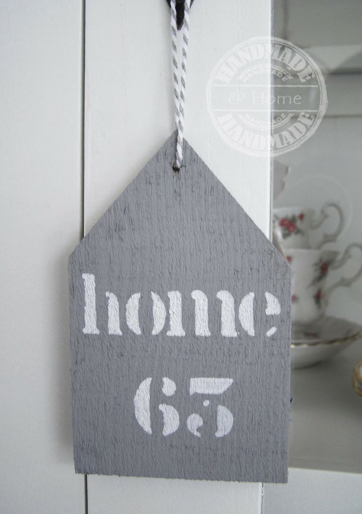 #houten huisjes # wooden house label