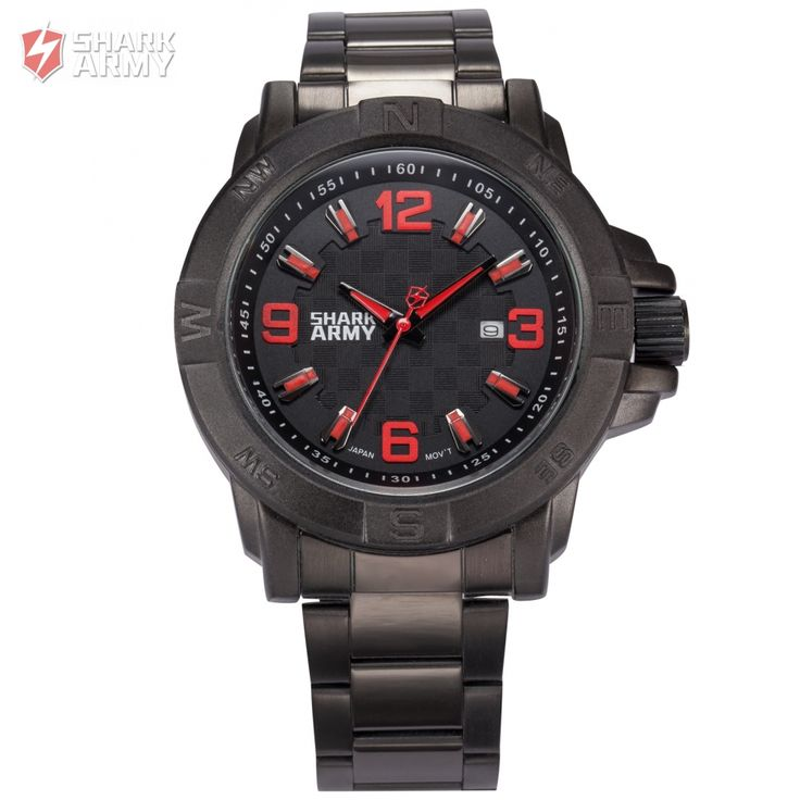 SHARK ARMY Military Watch Army Collection Avenger Series Model SAW147 Quartz Wrist Watches //Price: $48.98 & FREE Shipping //         #SharkTimepiece