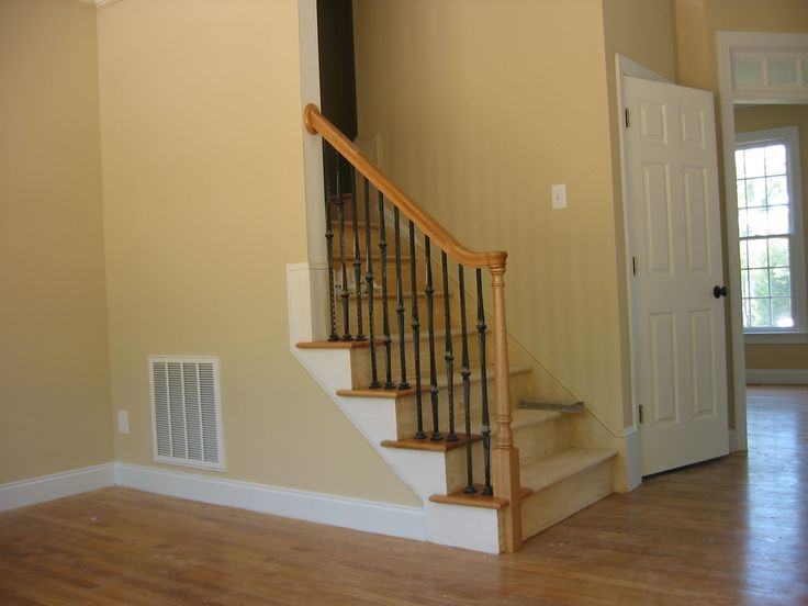 Best Stairway With Rail 4 Open Return Treads On Left Side Oak 400 x 300