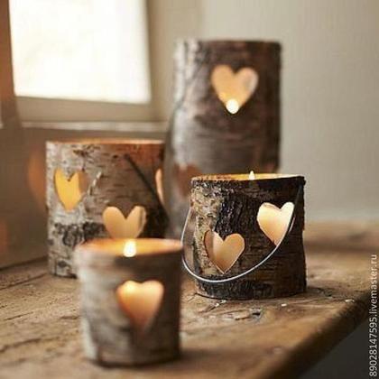 Подсвечники ручной работы. Ярмарка Мастеров - ручная работа Подсвечники из дерева. Handmade.