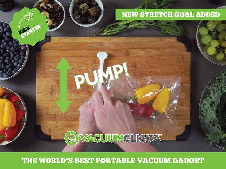 VacuumClicka is an ultra portable vacuum gadget. It is small, easy to use, affordable, and can be used on any bag.