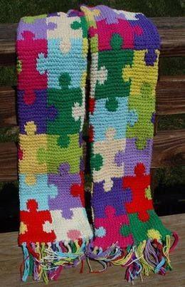 puzzle piece afghan crochet