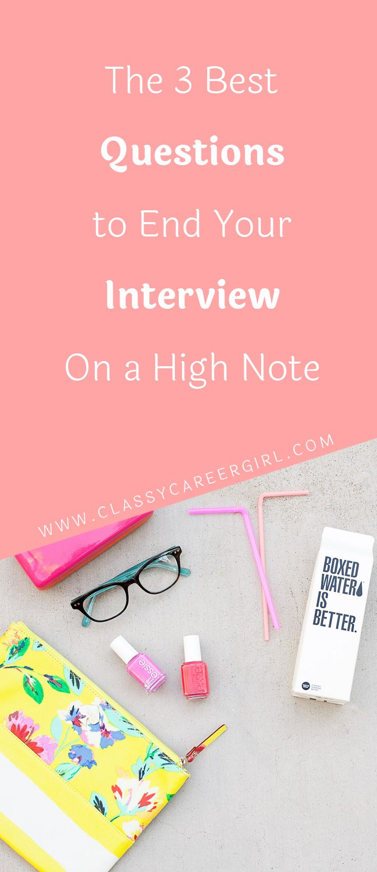 The 3 Best Questions to End Your Interview On a High Note  How do you know that the interview has gone well? Obviously, you are looking at the reaction of the interviewer when you answer certain questions and assuming how well you did.  Read more: http://www.classycareergirl.com/2016/11/best-questions-interview/