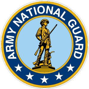 Army National Guard - Decal