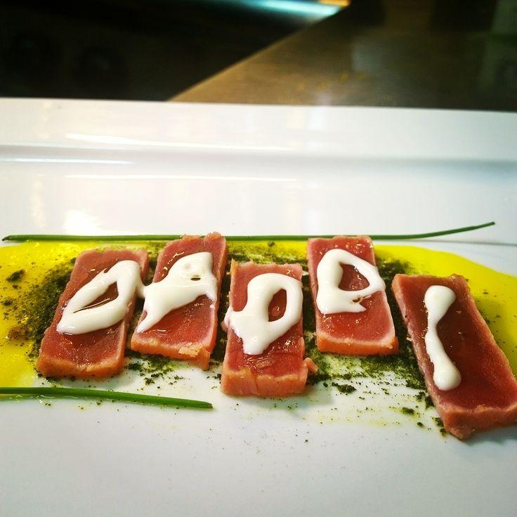 Graffiti Tuna by Chef Silvia Daddi #ChefDaddi