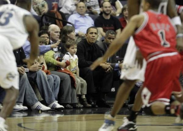 REPORT: 'Signs point to' President Obama attending Bulls game tonight - http://chicago.suntimes.com/basketball/7/71/1048584/president-obama-chicago-bulls-season-opener
