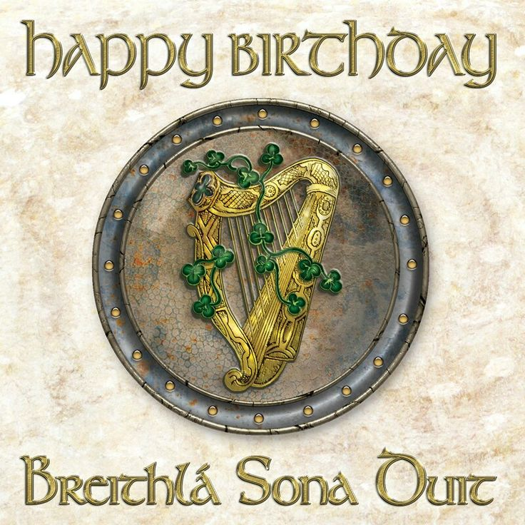 Image result for images of happy birthday with Celtic style themes