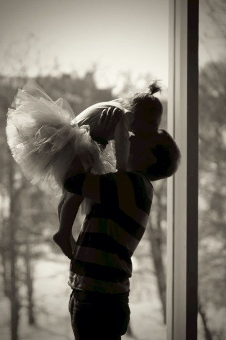 Daddy and daughter.....how every father/daughter relationship should be.